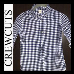 J.Crew CREWCUTS Plaid Shirt
